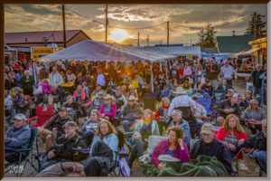 Street Festival, Sunset, Mountain Town, Event Photography